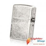 Zippo Antique Silver Plate Lighter