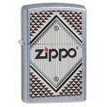Bật lửa zippo Red and Chrome