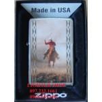 Bật lửa Zippo Mỹ in hình cao bồi